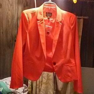 Orange Worthington jacket